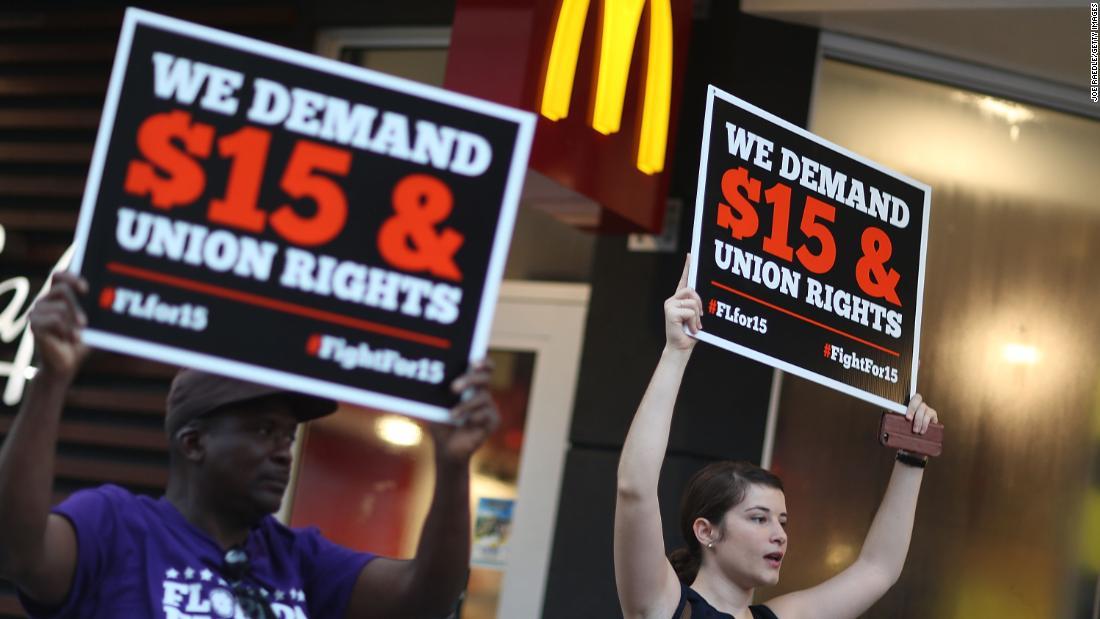 McDonald's will no longer lobby against minimum wage hikes