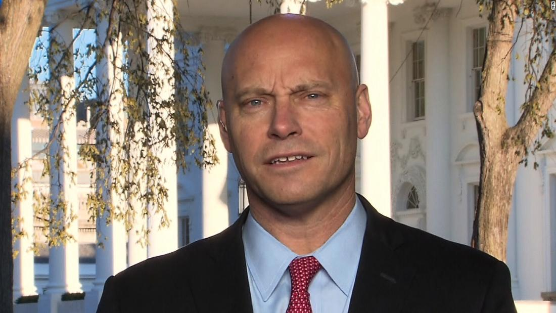 Marc Short, chief of staff to Vice President Mike Pence, has been diagnosed with Covid-19, the Vice President's office announced