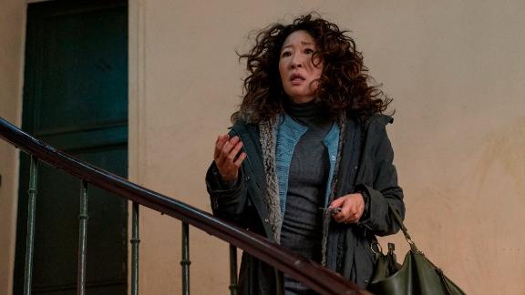 """Sandra Oh received her third Emmy nomination for actress in a leading role for """"Killing Eve."""""""