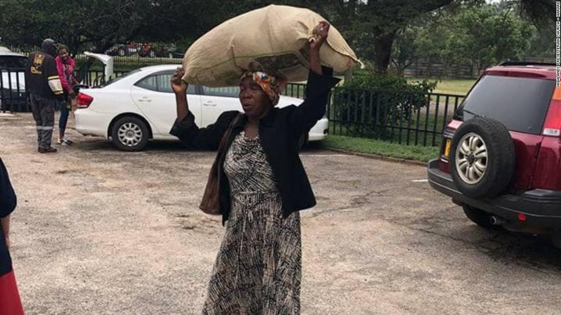 A 71-year-old grandmother walked miles to donate to cyclone survivors. Zimbabwe's richest man noticed
