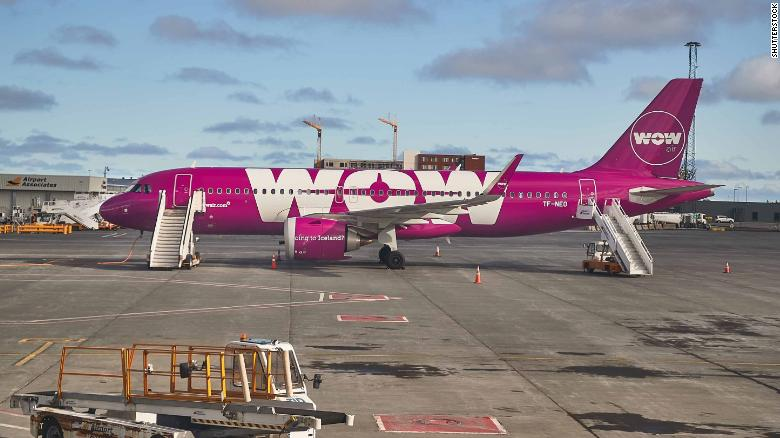 Passengers stranded after Wow Airlines ceases operations