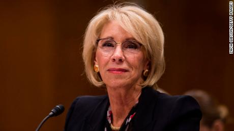 Betsy DeVos is glad to be education secretary 'most days'