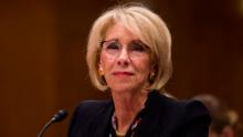 Education secretary won't say if schools should listen to CDC guidelines on reopening