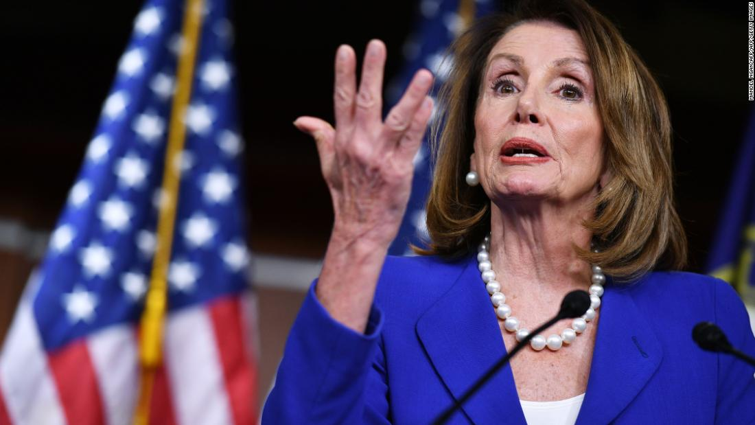 Nancy Pelosi pleads for patience