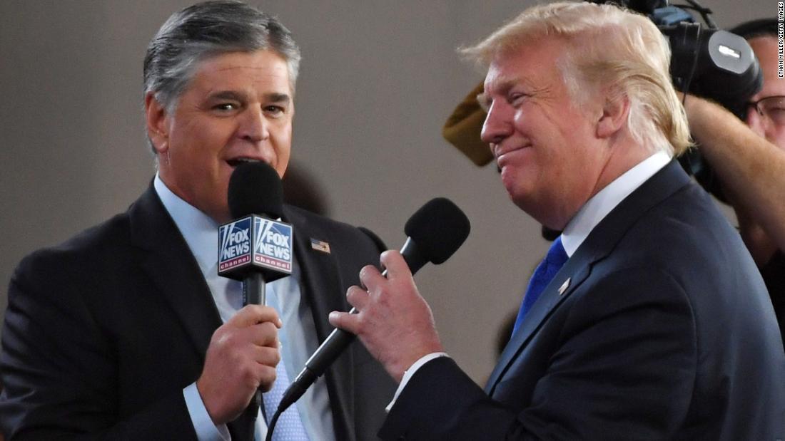 Analyse: 24 unverantwortlich Linien von Trump das neueste 'Hannity' interview