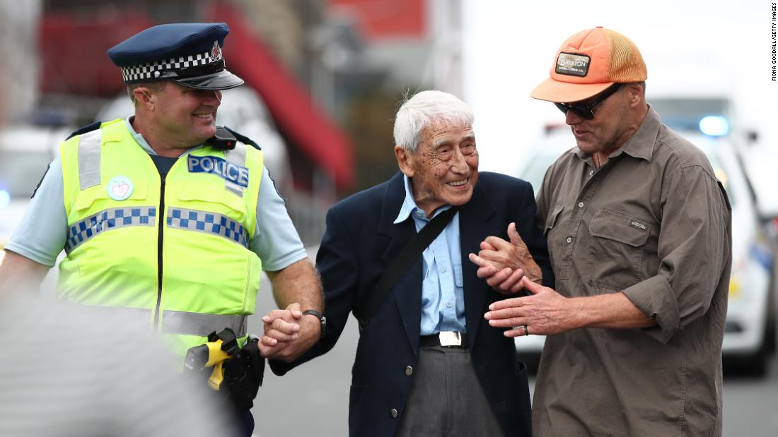 "John Sato, a 95-year-old World War II veteran, said he was so saddened by the horrific mosque attacks in Christchurch, New Zealand, that <a href=""https://www.cnn.com/2019/03/27/asia/world-war-ii-veteran-racism-march-new-zealand-trnd/index.html"" target=""_blank"">he took four buses to Auckland to attend a solidarity march against racism</a> on Sunday, March 24. There, he was helped by police and strangers to the awe of people marching."
