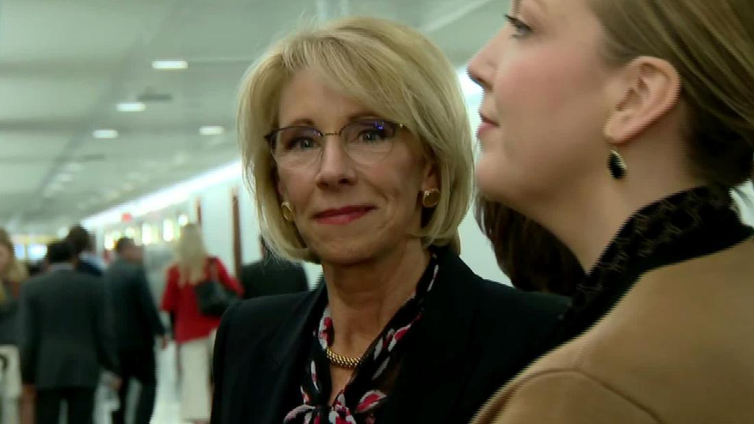 Has Betsy DeVos' time come?