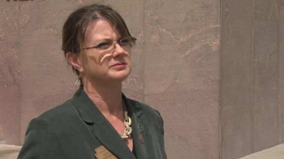 Arizona state Rep. Kelly Townsend is questioning whether police used excessive force when they tried to reach a sick toddler.