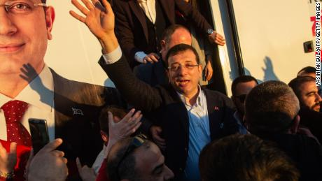 Ekrem Imamoglu, Istanbul's new CHP mayor, took office in April.