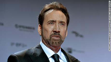 Nicolas Cage attends the German Sustainability Award 2016 (Deutscher Nachhaltigkeitspreis) at Maritim Hotel on November 25, 2016 in Duesseldorf, Germany.  (Photo by Sascha Steinbach/Getty Images)