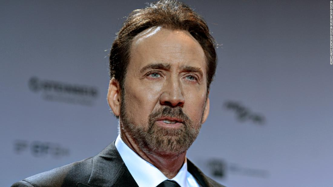 Nicolas Cage says he won't be in 'Tiger King' series after all