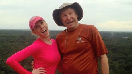 Alison Parker and her father Andy pose together for a photo.