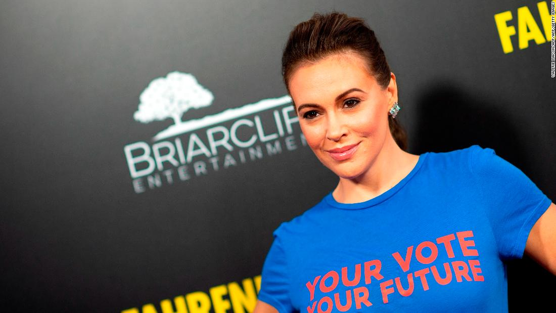 Alyssa Milano called for a sex strike to protest strict abortion laws. Women were not having it. - CNN thumbnail