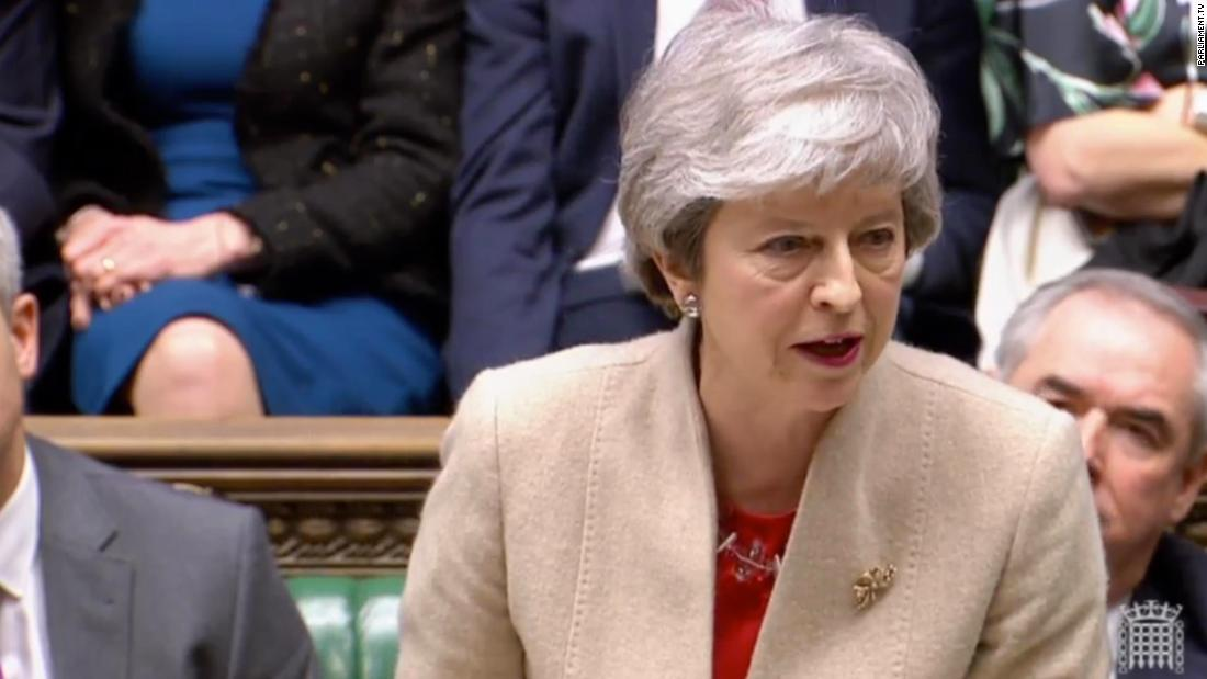 Watch Theresa May's response to defeat