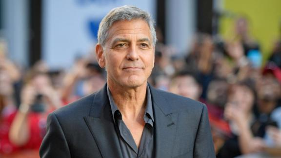 "George Clooney attends the premiere of ""Suburbicon"" during the 2017 Toronto International Film Festival on September 9, 2017."