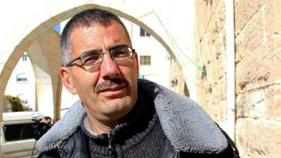 Aref Jaber, the human rights activist who took the video.