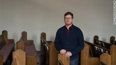 Evan Amo, a self-described Liberal Independent, is a pastor at the People's Presbyterian Church in Denver.