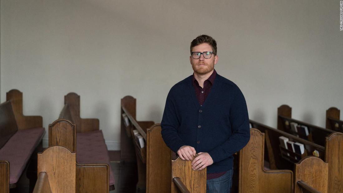 Evan Amo, a self-described liberal independent, is a pastor at Peoples Presbyterian Church in Denver.