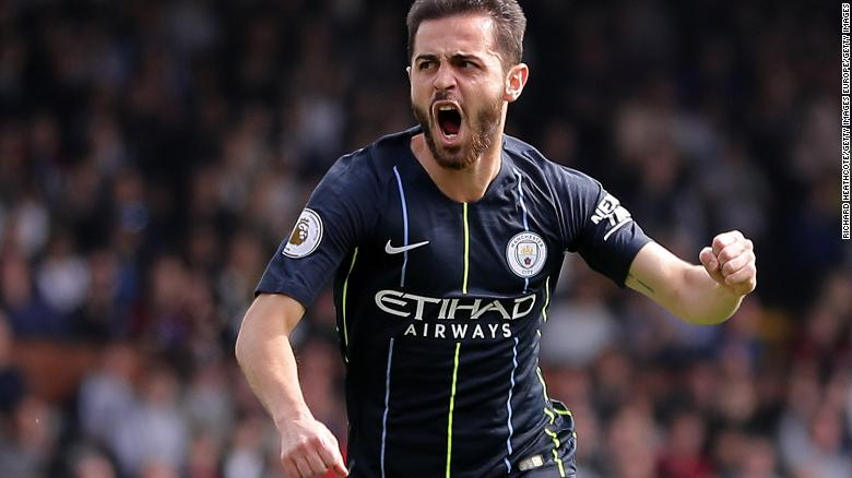 Bernardo Silva's early goal got City off to a flying start.