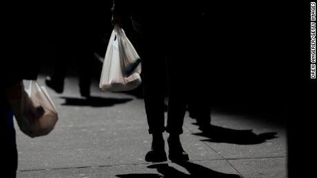 New York is expected to become the second state to ban single-use plastic bags