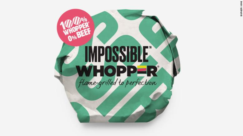 Burger King is testing out a meatless version of the Whopper.