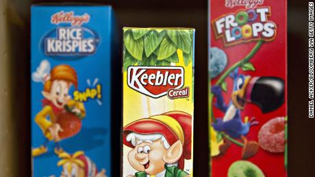 Kellogg sells Keebler to focus on cereals