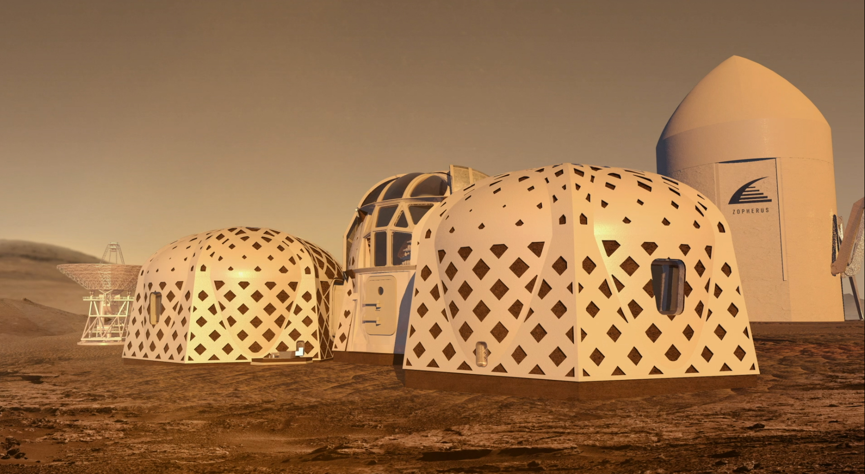 NASA Announces Top Three Designs For Homes On Mars   CNN Style