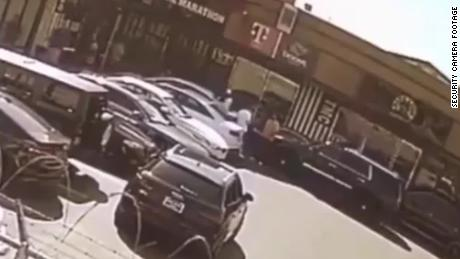 Nipsey Hussle shooting shown on surveillance video