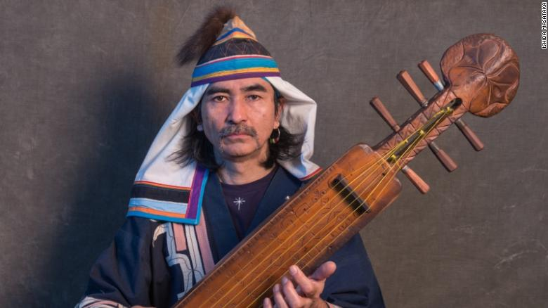 Oki Kano is a musician and founder of Oki Dub Ainu, a band that mixes indigenous Ainu music with reggae and other genres.