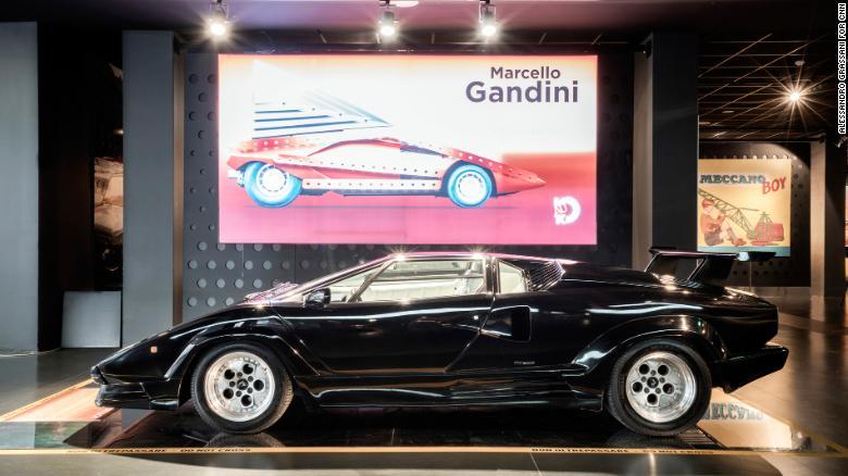 Marcello Gandini's radical automotive designs