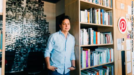 Ben Silbermann, the chief executive of Pinterest, in San Francisco in August 2018.