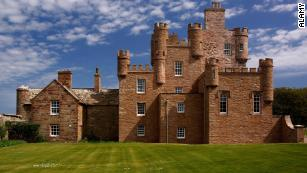 The Castle of Mey in Caithness was once home to the Sinclair family.