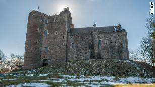 "Castle Doune in central Scotland, once home to the Stewart family. ""Game of Thrones"" has shot scenes there."
