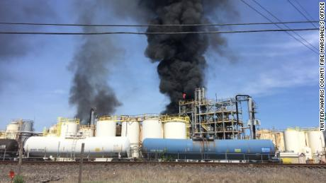 Investigators are trying to determine what caused Tuesday's fire at a KMCO chemical plant.