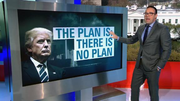Cillizza breaks down trump's plan.. there is no plan