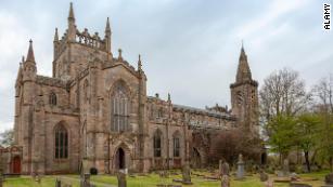 Dunfermline Abbey, home to Henrietta Stewart.