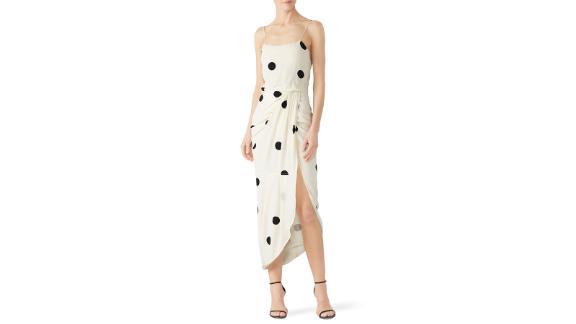 "<strong>Derek Lam 10 Crosby Polka Dot Cami Dress (prices vary based on subscription;</strong><a href=""http://redirect.viglink.com?type=bk&opt=false&u=https%3A%2F%2Fwww.renttherunway.com%2Fshop%2Fdesigners%2Fderek_lam_10_crosby%2Fpolka_dot_cami_dress&key=ed7eb6546c416eb284920d7a87c6d8c4"" target=""_blank"" target=""_blank""><strong> renttherunway.com</strong></a><strong>) </strong>"