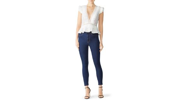 Saylor Julian Top (prices vary based on subscription; renttherunway.com)