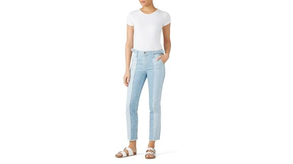AG Isabella Paneled Jeans (prices vary based on subscription; renttherunway.com)