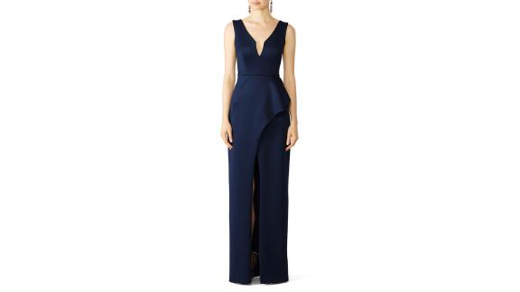 Black Halo Hendricks Gown (prices vary based on subscription; renttherunway.com)