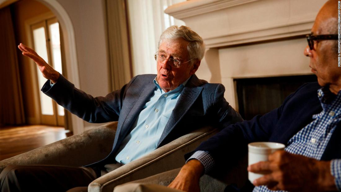 Silicon Valley has a powerful defender in antitrust fight: the Koch network