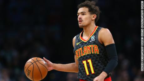 Trae Young has partnered with a nonprofit to help those in medical debt.