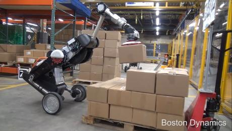 This Boston Dynamics robot is made for the warehouse