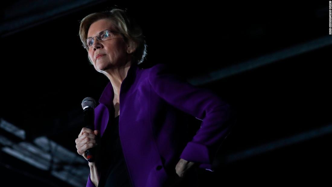 Elizabeth Warren says House should start impeachment proceedings for Trump