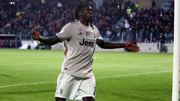 Kean scored in the 85th minute to secure victory for Serie A leaders Juventus.