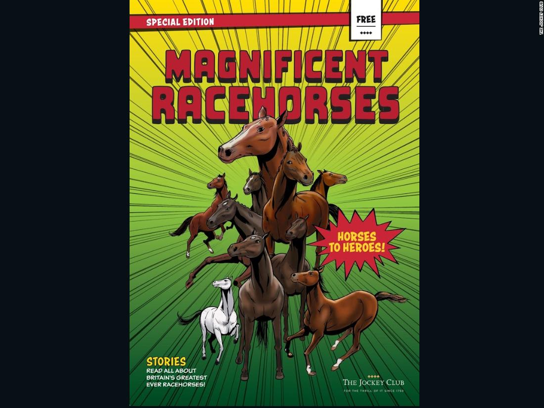 Marvel artists Martin Griffiths and Simon Furman have turned Britain's racehorse legends into superheroes with their very own comic book, joining the likes of Spider-Man, Captain Marvel and Black Panther.