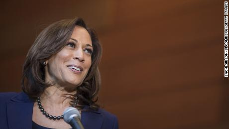 In photos: Presidential candidate Kamala Harris
