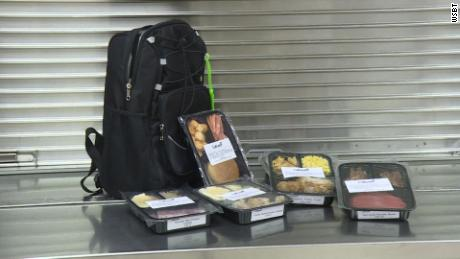 The program provides students with eight frozen meals so students will have food over the weekend.