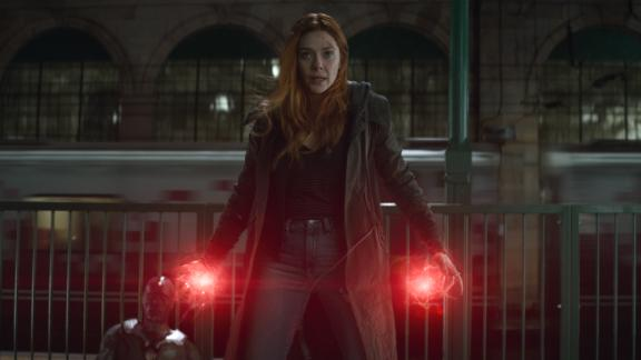 Elizabeth Olsen as Scarlet Witch in