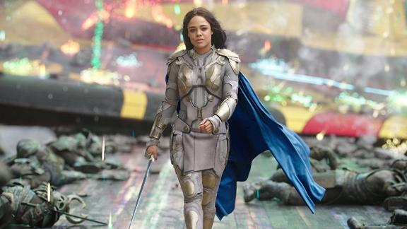 Tessa Thompson's Valkyrie is on her way to steal your girl.